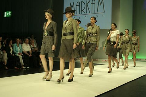 """Колекцията """"Пролет-лято 2009"""" на Markam Fashion откри модното шоу на изложението """"Collection Premiere Dusseldorf"""""""